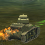 Mod – fiery exhaust, like Franken-tank