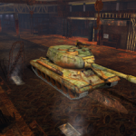 "Hangar ""Rusty Warriors"" for World of Tanks Blitz"