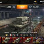 """Hangar """"4PDA"""" for World of Tanks Blitz"""