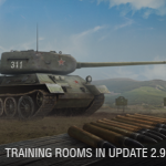 UPDATE 2.9. Rooms for training.