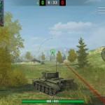 The new joystick for World of Tanks Blitz 2.10