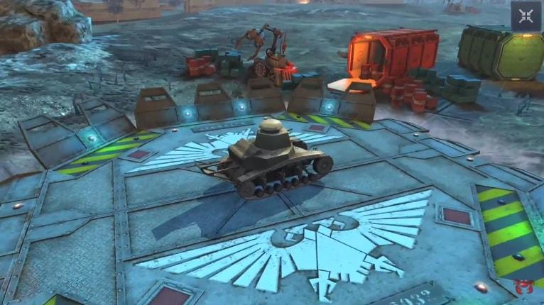 ангар Warhammer 40 k 1
