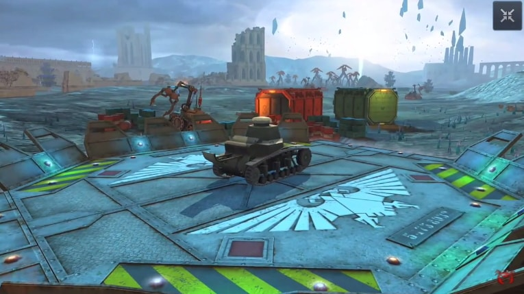 ангар Warhammer 40 k 2