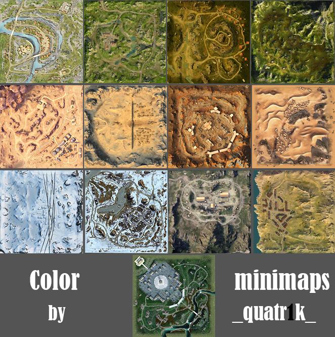 Color Maps Mod by quatr1k   WoT Blitz 6.1 - Fan Site! on