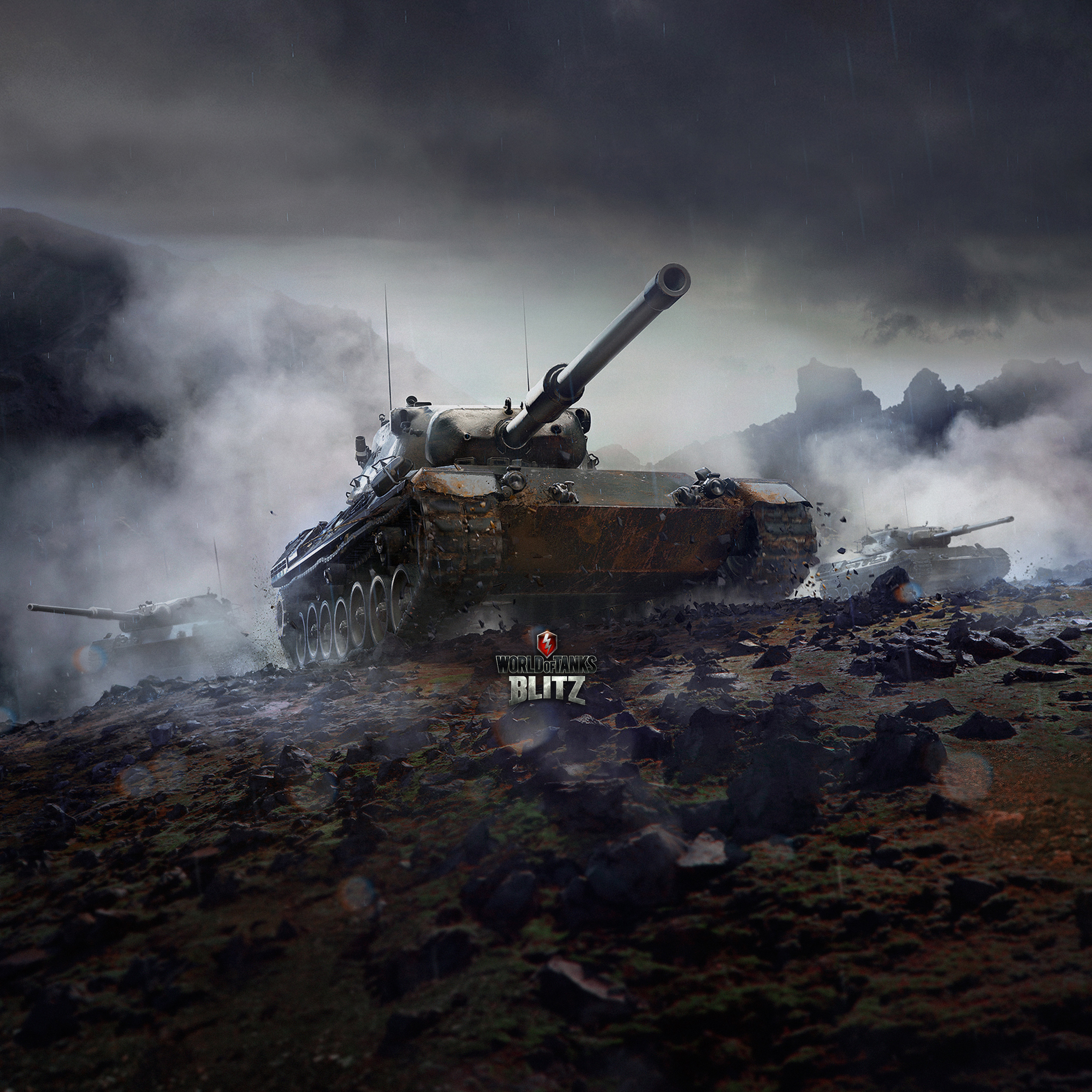 Wallpapers for your tablet – Leopard 1 | WoT Blitz 6 2 - Fan