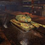 "Hangar ""Rusty Warriors"" for World of Tanks Blitz"