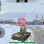 Circle information seamless for World of Tanks Blitz