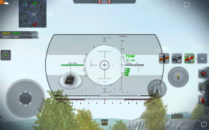 Harpoon sight for World of Tanks Blitz