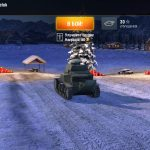 New Year's hangar 2017 for World of Tanks Blitz