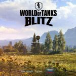Loading screen for World of Tanks Blitz