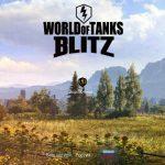 Loading screen for World of Tanks Blitz