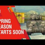 New event for World of Tanks Blitz. Spring season 2019